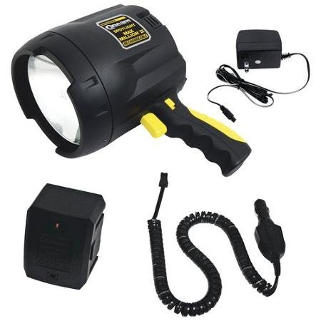 - Brinkmann FBA_9507440 QBeam 800-2380-W Max Million III Rechargeable Spotlight Offroad Automotive/Garage /Emergency/Boating/Fishing/Hunting/Camping/Hiking/Patrolling