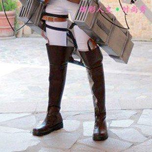 Attack on Titan Ellen Ellen Ellen schuhe aluminate Mikasa cosplay costume Stiefel Größe 23.5-24.0cm (japan import) 3ff315