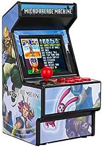 Amazon.es: King Bomb Mini Consola de Juegos Arcade 156 Juego clásico Consola de Juegos portátil 700MAH batería de Litio Recargable Pantalla de 2.8 Pulgadas para niños y Adultos (Azul)