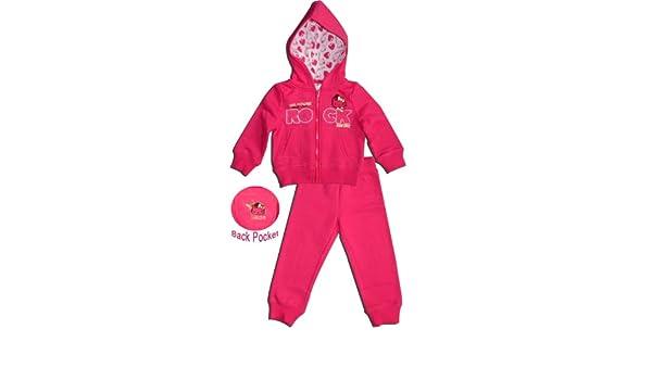 Elvis Hello Kitty - Chándal - para niña rosa rosa 2 años: Amazon ...