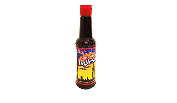 Amazon.com : Ina English Sauce 5 oz - Salsa Inglesa (Pack of 36) : Grocery & Gourmet Food