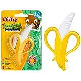 Massageador Dental Banana, Nûby, Amarelo