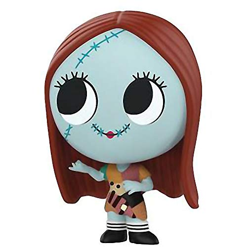 Funko Sally: The Nightmare Before Christmas x Mystery Minis Mini Vinyl Figure & 1 PET Plastic Graphical Protector Bundle [32850]