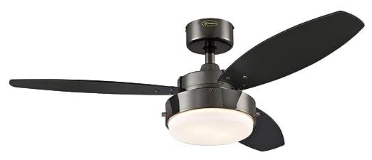 8 opinioni per Westinghouse 7876440 Ventilatore a Soffitto Alloy, Metallo, 80 watts, Grigio