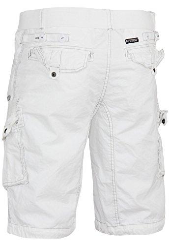 Cargo White Pour Bermudas Norway Geographical Sweatshorts Shorts Hommes qx4pCXwnnv