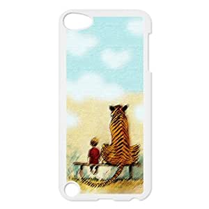 Calvin And Hobbes, Cartoon Cover Case Shell For ipod Touch 5 5th 5g, Gifts, iphone Accessories by mcsharks