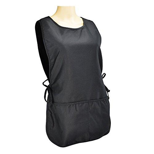 dalix cobbler apron 2 pockets smock regular 28 5 x 18 5 black new ebay. Black Bedroom Furniture Sets. Home Design Ideas