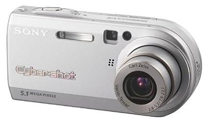 amazon com sony cybershot dscp100 5 1mp digital camera with 3x rh amazon com Sony Cyber-shot DSC WX70 Cyber-shot Software