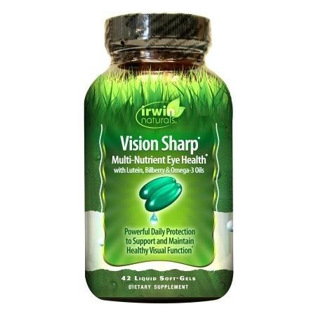 Irwin Naturals Vision Sharp Multi-Nutrient Eye Health, Softgels - 3PC by Irwin Naturals
