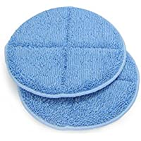 2 Microfiber Pad Attachments for the Prolux Proshine Scrubber Buffer Mop