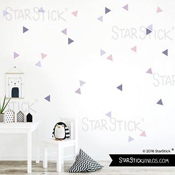 Starstick Dreiecke Nordischen Kombination Lavendel Wandtattoos