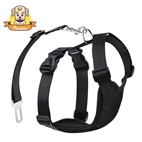 PAWABOO Dog Safety Harness