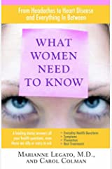 What Women Need To Know Paperback