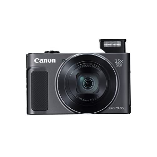 Canon PowerShot SX620 Digital Camera w/25x Optical Zoom - Wi-Fi & NFC Enabled (Black)
