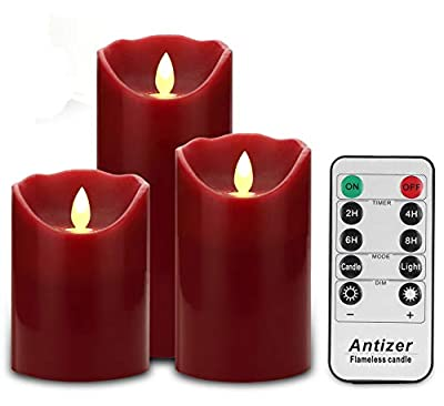 Antizer Flameless Candles with Remote