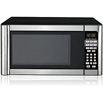 Amazon.com: Hamilton Beach 1.1 cu ft Microwave, Stainless ...