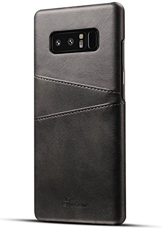 Galaxy Note 8 Case,XRPow Synthetic Leather Wallet Case with Card Holder Slots