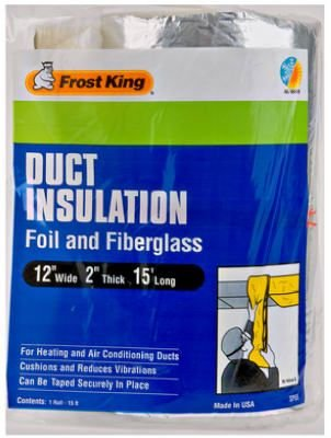 "Thermwell Products 12""X15' Fbg Insulation Sp55 Pipe Insulation"