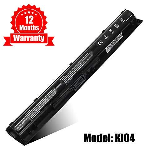 New Spare K104 Notebook Battery for HP Pavilion 14-ab000 15-ab000 17-g000 Series Compatible with KI04 KI04041 800049-001 800010-421 HSTNN-LB6S HSTNN-LB6R TPN-Q158 TPN-Q159 TPN-Q160