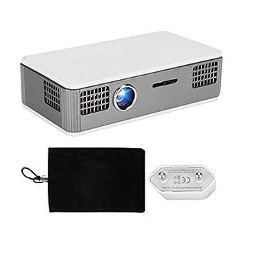 ASHATA Mini Proyector Inteligente Prtátil, WiFi Bluetooth ...