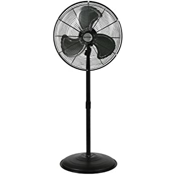 This Item Hurricane Pro High Velocity Oscillating Metal Stand Fan 20 Inch    736472   Heavy Duty Stand Fan For Industrial, Commercial And Greenhouse Use