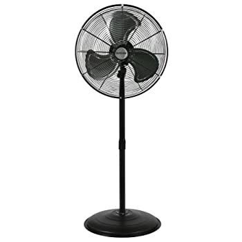 Image of Home and Kitchen Hurricane GL56736472 ricane Pro High Velocity Oscillating Metal Stand Fan 20 in Hur, natural