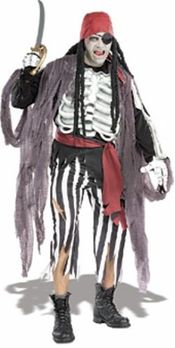 Rubie's Costume Masquerade Concepts Costumes Ghostship Pirate - Adult XL]()