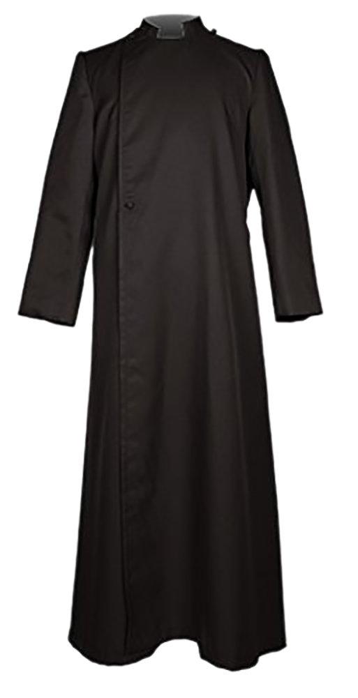 Ivyrobes Unisex Adults Pulpit(Clergy) Cassock X-Large Black 54