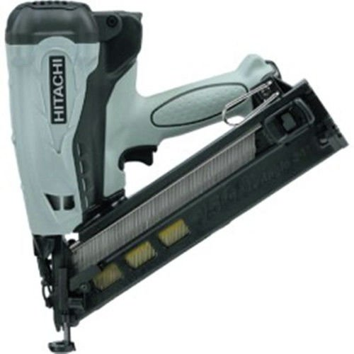 Factory-Reconditioned: Hitachi NT65GA 15 Gauge 2-1/2-Inch Gas Powered Angled Finish Nailer