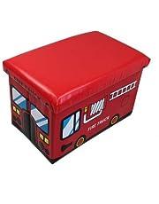 GMMH - Caja de almacenaje Plegable para Juguetes (Convertible en Taburete), diseño de