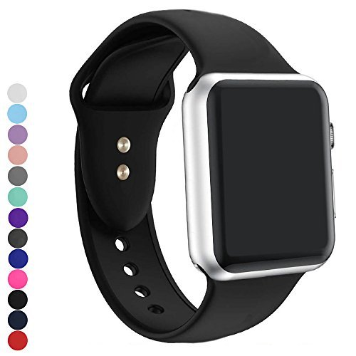 a8Miss Band for Apple Watch, Silicone Replacement Bands Series 1, Series 2,Series 3