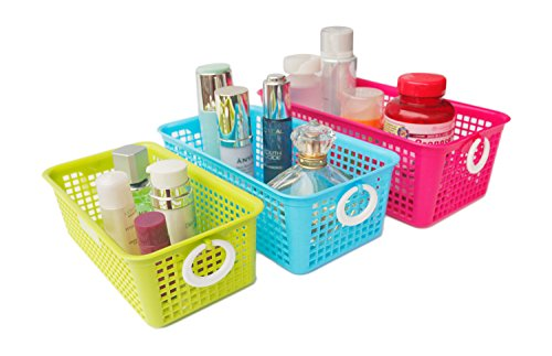 Honla Perforated Plastic Organizer Handles Set