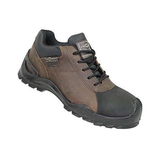 AIMONT - Calzado de protección de Piel para hombre marrón marrón marrón Size: 41 1m7jQ