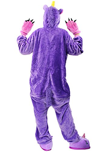 Compleanno InteroTuta Kigurumi Carnevale Anime Natale Party Regalo Onesie Purple Landove Costume Unisex Unicorn Animali Adulto Pigiama Unicorno Cosplay Halloween di di Animale qtzwSFOxU