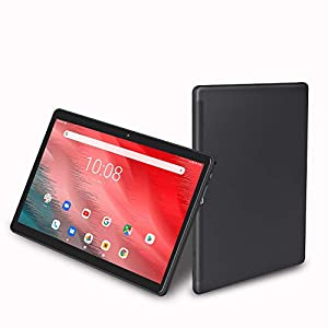 10 inch Tablet, Android 9.0, 32GB Storage, Octa-Core Processor, 1920×1200 IPS HD Display, Wi-Fi, Support 4G Phone Call (Black)