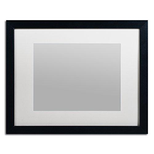 Trademark Fine Art Heavy Duty 16x20 Black Picture Frame w...