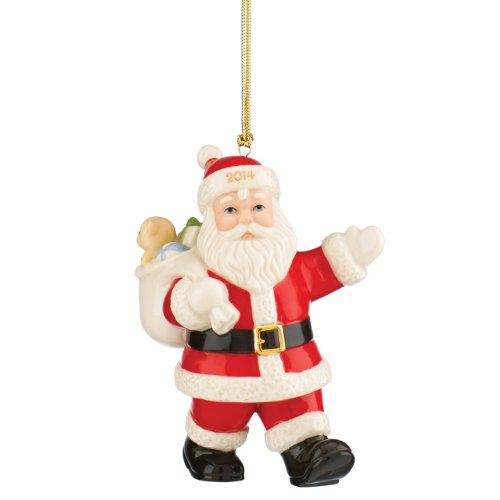 (Lenox 2014 Special Delivery Santa Ornament)