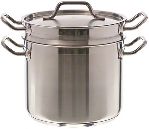 Update International (SDB-16) 16 Qt Induction Ready Stainless Steel Double Boiler w/Cover by Update International (Image #3)