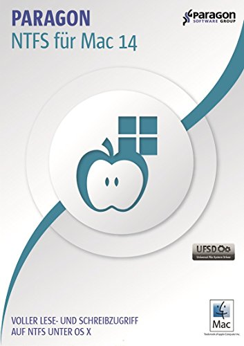 Paragon NTFS for Mac 14 - Unlimited access to NTFS volumes in macOS! [Download]
