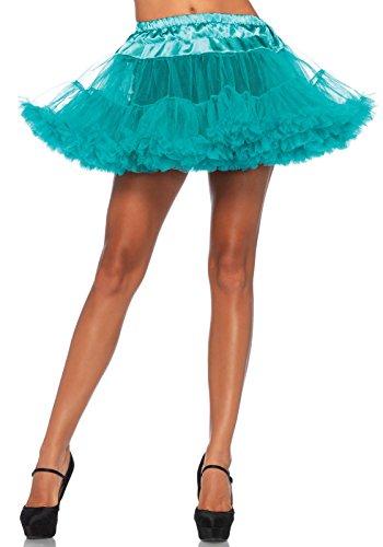 Leg Avenue Women's Petticoat, Teal, One Sizes Fit ()