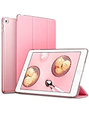 Smart Case for iPad mini 4/5 Lightweight Slim Shell Translucent Frosted Back Cover - Pink