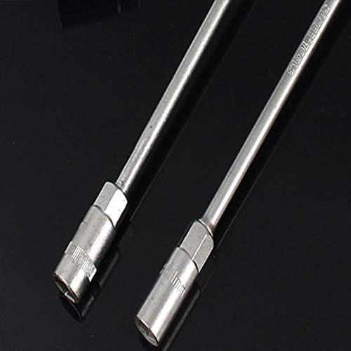 T型ソケットレンチセット、T型レンチ車修理マニュアル六角ソケットレンチ修理ツールレンチ磨かれたクロム金属省力レンチ