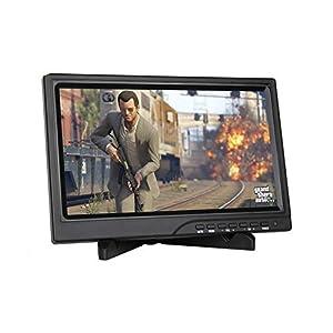 cocopar 10.1 Inch 1080P HDMI Screen 1280800 Portable HD Display VGA Monitor for Raspberry Pi 3/PS3/PS4/XBOXONE/WINDOWS 7 8 10