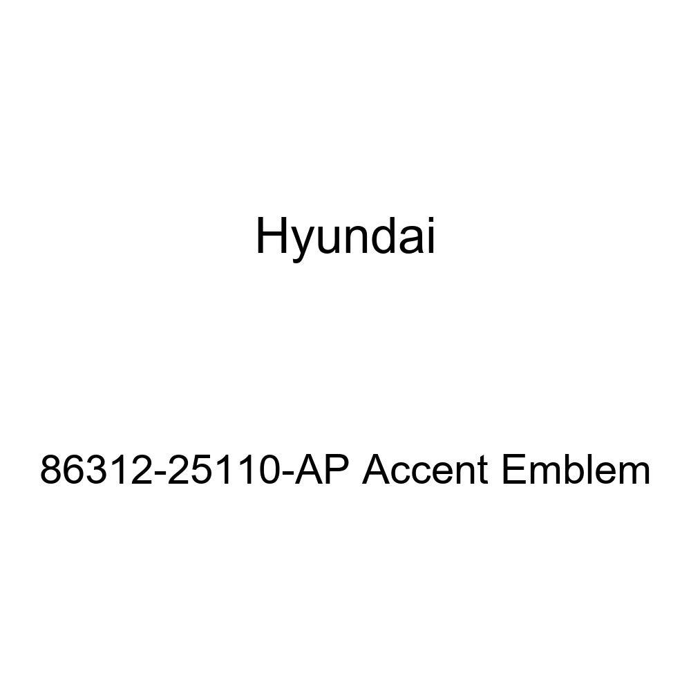 HYUNDAI Genuine 86312-25110-AP Accent Emblem
