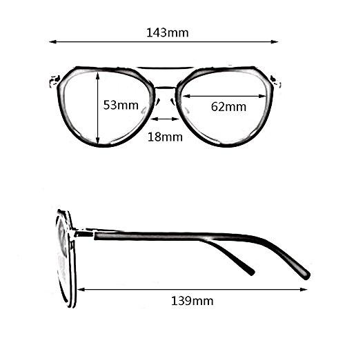 100 para Gafas de la de de sol SSSX a sol polarizadas mujer para visera con sol sol conducir Gafas sol Gafas UV400 Gafas moda de Gafas de XZxqRf