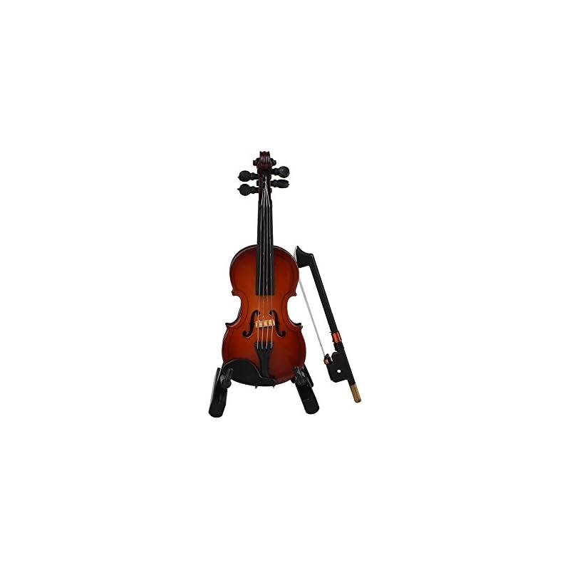 Forfar Miniature Violin Wooden Instrumen