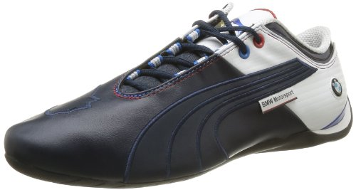 Puma Future Cat M1 Big Bmw Nm - Zapatillas de Deporte de cuero hombre azul - Bleu (Bmw Team Blue/White)