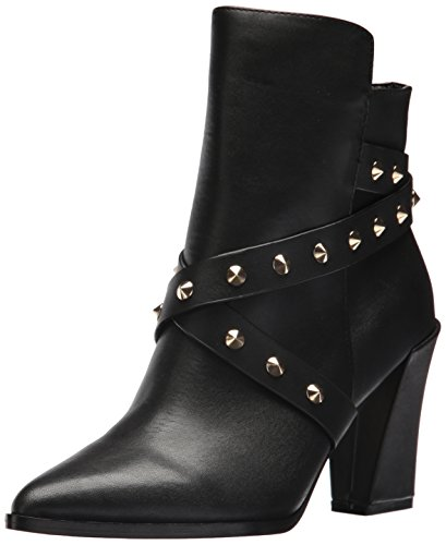 Nicole Miller Women's Imola-NM Fashion Boot Black Suede XJ7kU7lb