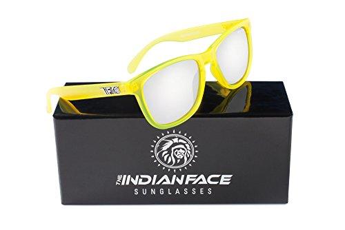de INDIAN Sol Mixto THE Gafas Bombay FACE Amarillo qtxwTZa7T