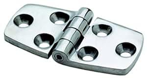"""Attwood Corporation 66028-3 3"""" Cast Stainless Steel Door Hinge"""